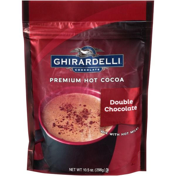 Ghirardelli Chocolate Premium Double Chocolate Hot Cocoa