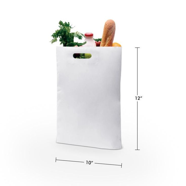 Lowest Price on 10 x 12 D Cut Plastic Carry Bags. Shop today & save more!