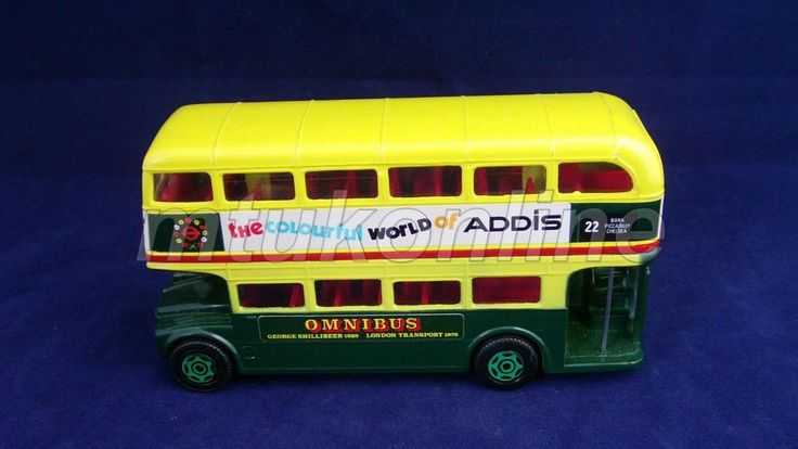 CORGI DOUBLE DECKER BUS | MADE IN GB | THE COLOURFUL WORLD OF ADDIS | OMNIBUS