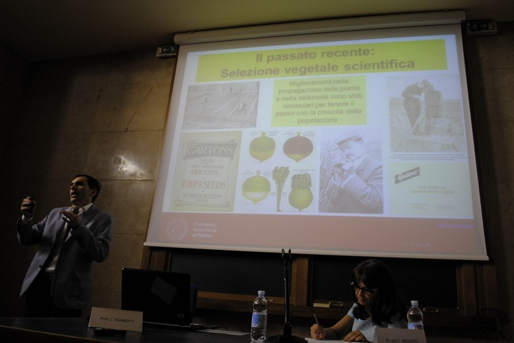 Prof. Livio Trainotti #OGM #ricerca