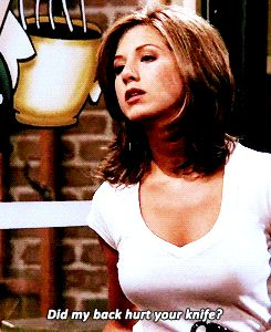 Rachel Green - Jennifer Aniston #Friends #TV show #Gif
