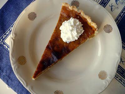 Bori around the World: Pumpkin Pie - Sütőtök pite - Őszi hangulat