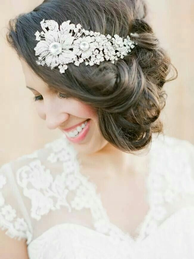 Wedding day wow hair
