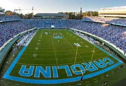 Kenan Memorial Stadium is the home of Carolina's football team. Built in 1927, the stadium has undergone a series of renovations, expansions and upgrades over the years. Set back from Stadium Drive among the Carolina pines, the 60,000-seat Kenan Stadium is one of the most beautiful football facilities in the country. The Charlie Justice Hall…