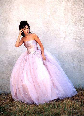 Lavender gown Allure Couture by Luisa Manea
