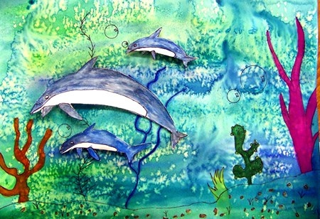 "From exhibit ""Tropical Fish painting""  by Randi109"