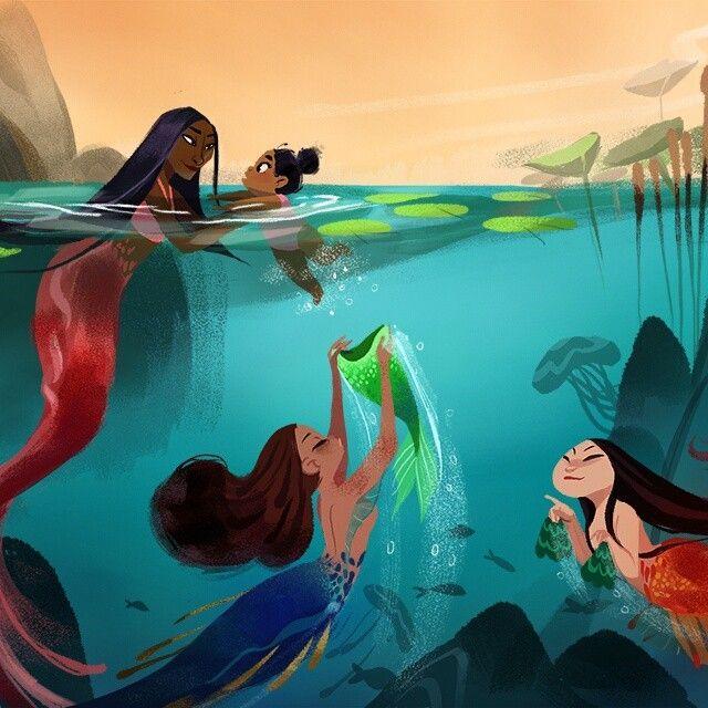 Best 25 Black mermaid ideas on Pinterest Beautiful mermaid