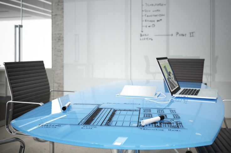 New spin on dry erase table tops