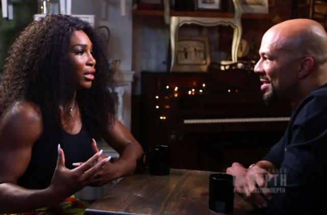 """The tennis great Serena Williams and MC Common dive deep for nearly an hour in ESPN's """"The Undefeated In-Depth: Serena With Common."""""""