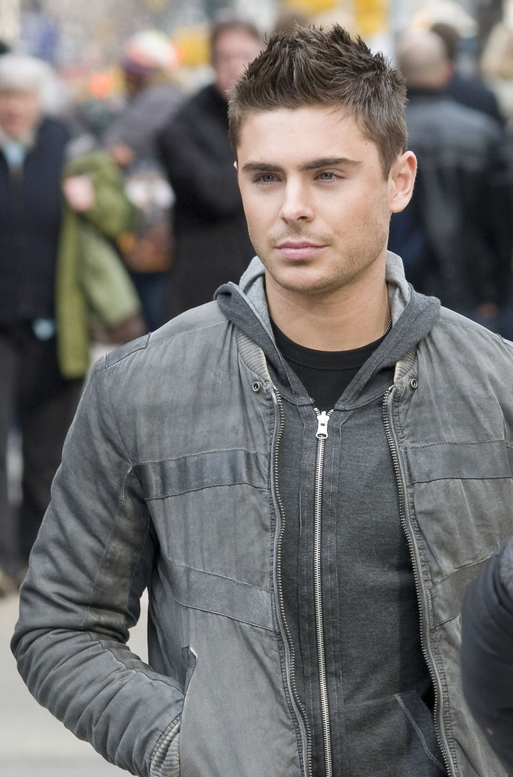 Zac Efron Short Hair | From The National Enquirer , print edition, scan via Boy Culture ]