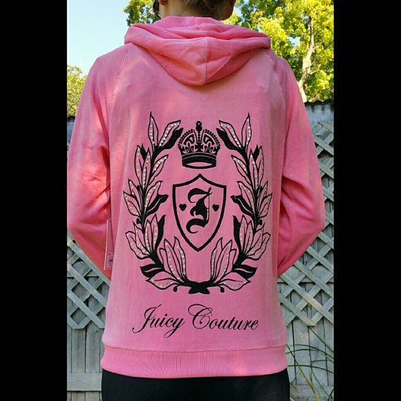 Selling this Sale Juicy Couture Velour Hoodie Bling HP! in my Poshmark closet! My username is: rianemone. #shopmycloset #poshmark #fashion #shopping #style #forsale #Juicy Couture #Tops