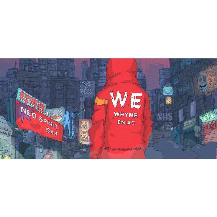Neo Bratislava and WE (Whyme & eniac dj's), Tomas Ciger Eniac on ArtStation at https://www.artstation.com/artwork/VYN1Z