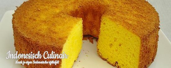 Kue Chiffon Nanas - Hele luchtige cake met verse ananas - Very airy cake with fresh pineapple