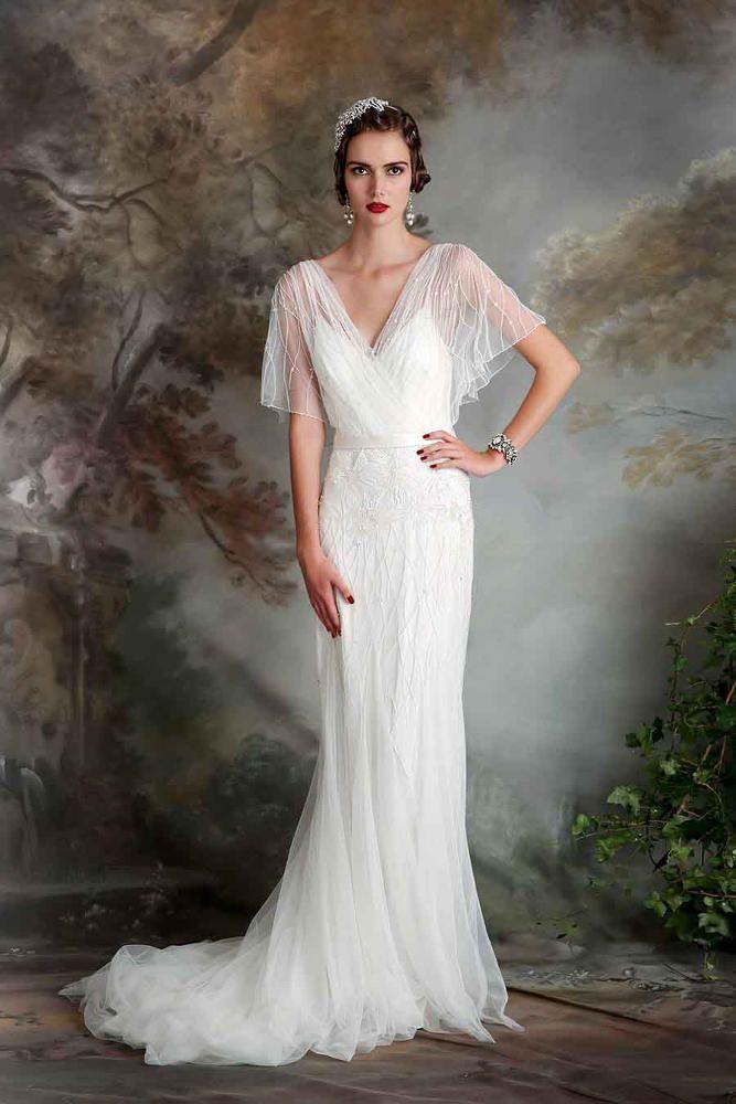 Robe de mariée Clara disponible chez Plume Paris
