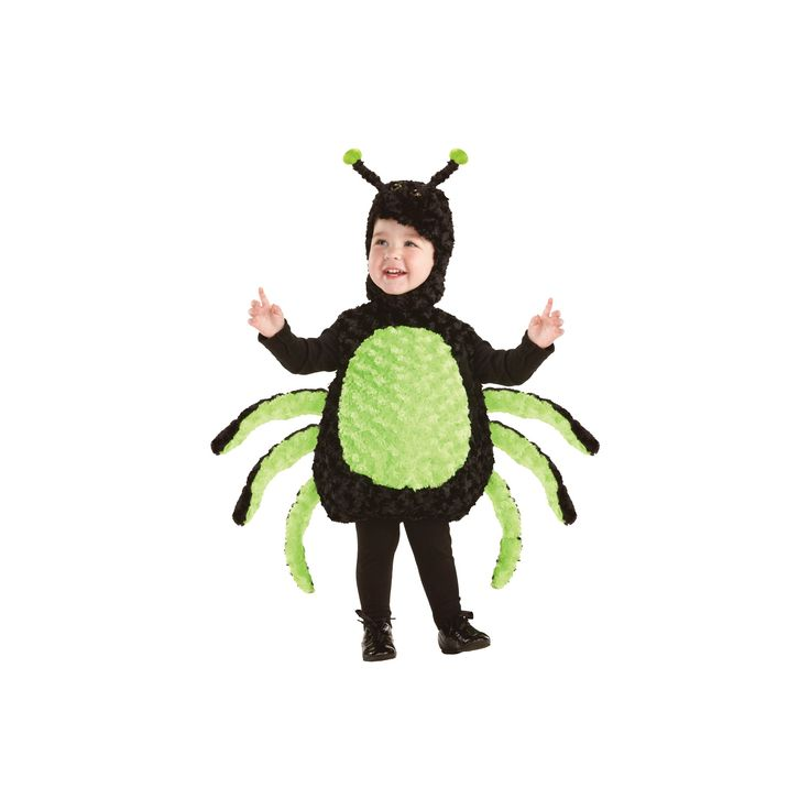Halloween Toddler Spider Costume 18-24 Months, Toddler Boy's, Size: 2T-4T, Variation Parent