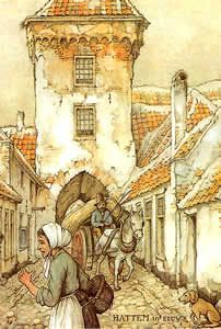 Hattem, Holland, Anton Pieck