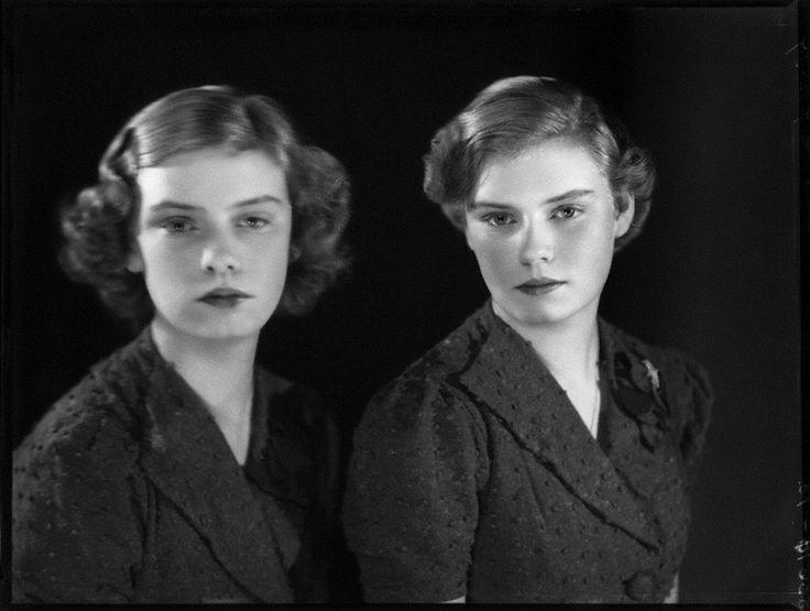 Benedikta Maria of Hohenzollern (1921-2011) and Maria Adelgunde of Hohenzollern (1921-2006)