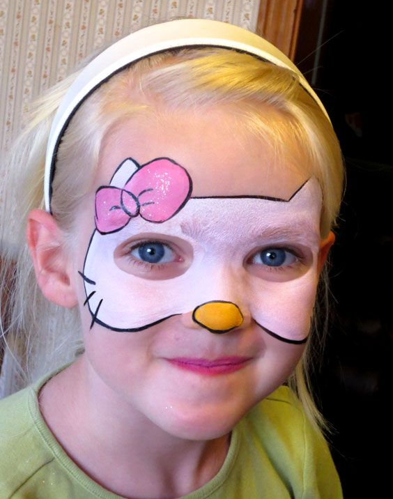Gallery For > Kitty Face Painting