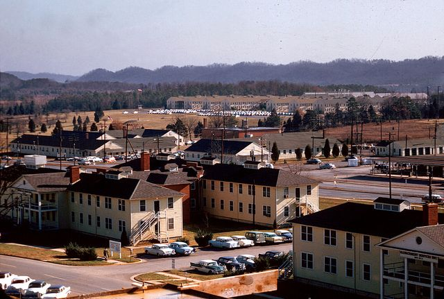 Oak Ridge 1959 DOE photo by Ed Westcott Oak Ridge Tennessee 1959