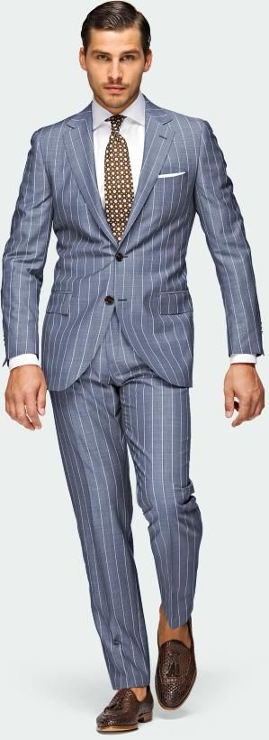 1000 Ideas About Blue Pinstripe Suit On Pinterest Shirt