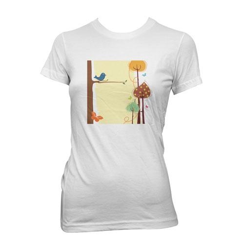 Hvit-Tskjorte-printet-og-trykket-med-TTC-transferpapir-fugl  Lys tskjorte trykket med TTC Transferpapir http://www.themagictouch.no