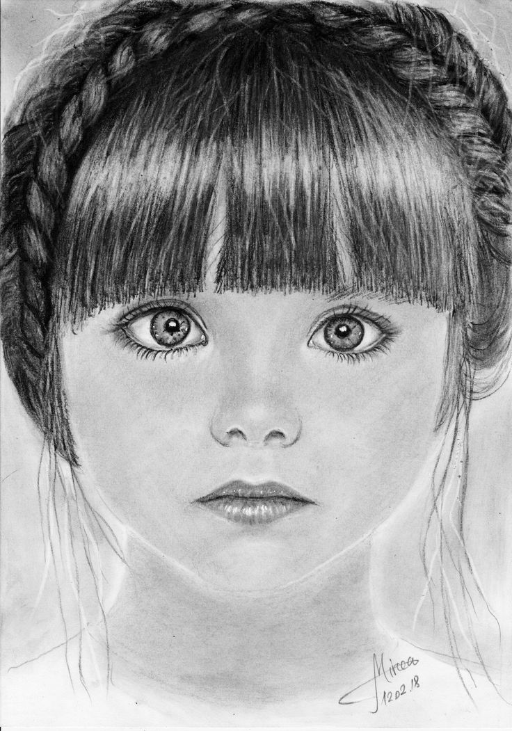 """Anastasiya"" charcoal 20x30 by Mircea Craciunel."