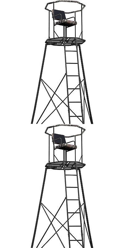 Tree Stands 52508: Heavy-Duty 15 Tripod Tree Stand Deer Hunting Bow Rifle Hog Archery Tower New -> BUY IT NOW ONLY: $238.45 on eBay!
