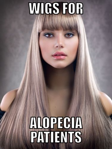Wigs For Alopecia Patients - Do You Need One? - http://blog.afuro.co.uk/wigs-for-alopecia-patients/