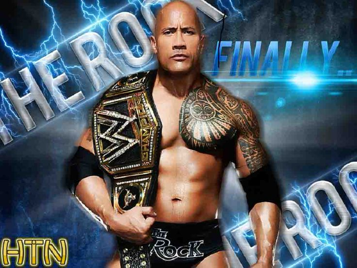 WWE images The Rock - Champion of a new Era HD wallpaper and