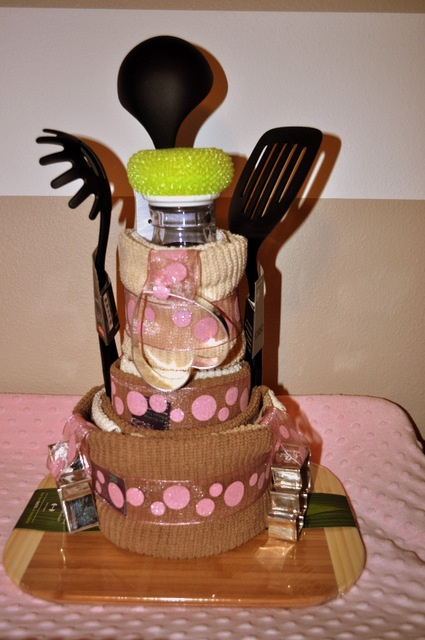 Kitchen Towel Gadget Cake Cute For A Bridal Shower