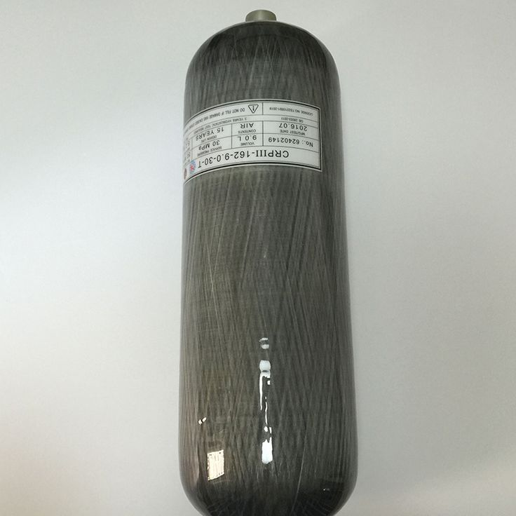Competitive Price 2017 New SCUBA/Industrial Used 9L 4500Psi 300Bar Carbon Fiber Gas Cylinder---S