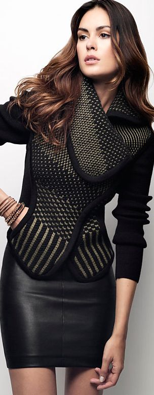 OHNE Titel Exclusive Knit Sweater Jacket