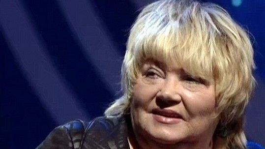 Poslední vystoupení Věry Špinarové v televizi pár dní před jejím skonem