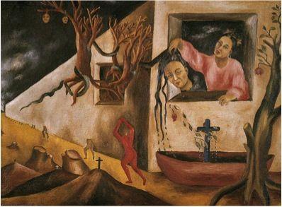 María Izquierdo, Dream and Premonition, 1948