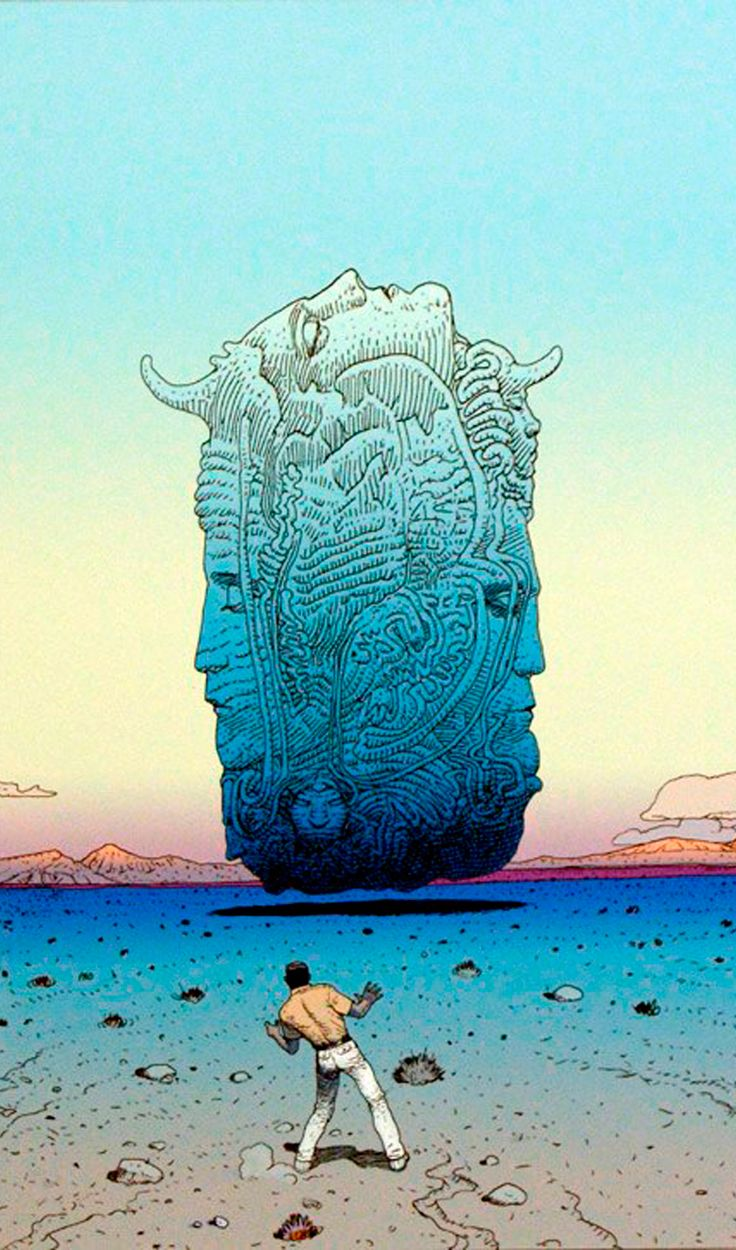 ..._moebius+ French comic book creator (1943-2012)                                                                                                                                                                                 Mais