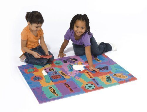 WonderFoam Giant Our Body Activity Puzzle by Chenille Kraft. $30.57. Black and White outline of Front and Back of Puzzle.. Non-toxic safe. Fun Facts Guide. 76 Total pieces. 24 Punch-out pieces Included. From the Manufacturer                The wonders of the human body are graphically and colorfully depicted on this giant foam puzzle. Front side graphically displays key organs and body parts while the back side identifies different body parts, muscles and their functions in ...