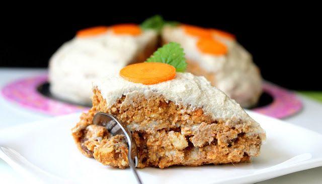 Raw mrkvový dort   Cooking with Šůša