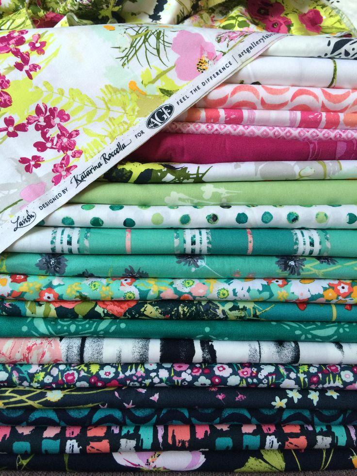 Lavish fabrics by Katarina Roccella for Art gallery fabrics