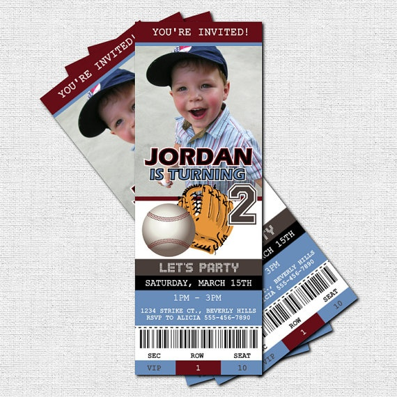 77 best images about baseball birthday party on Pinterest