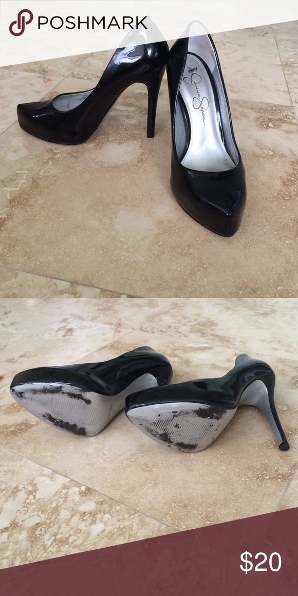 Jessica Simpson high heels Good but used condition Jessica Simpson Shoes Heels