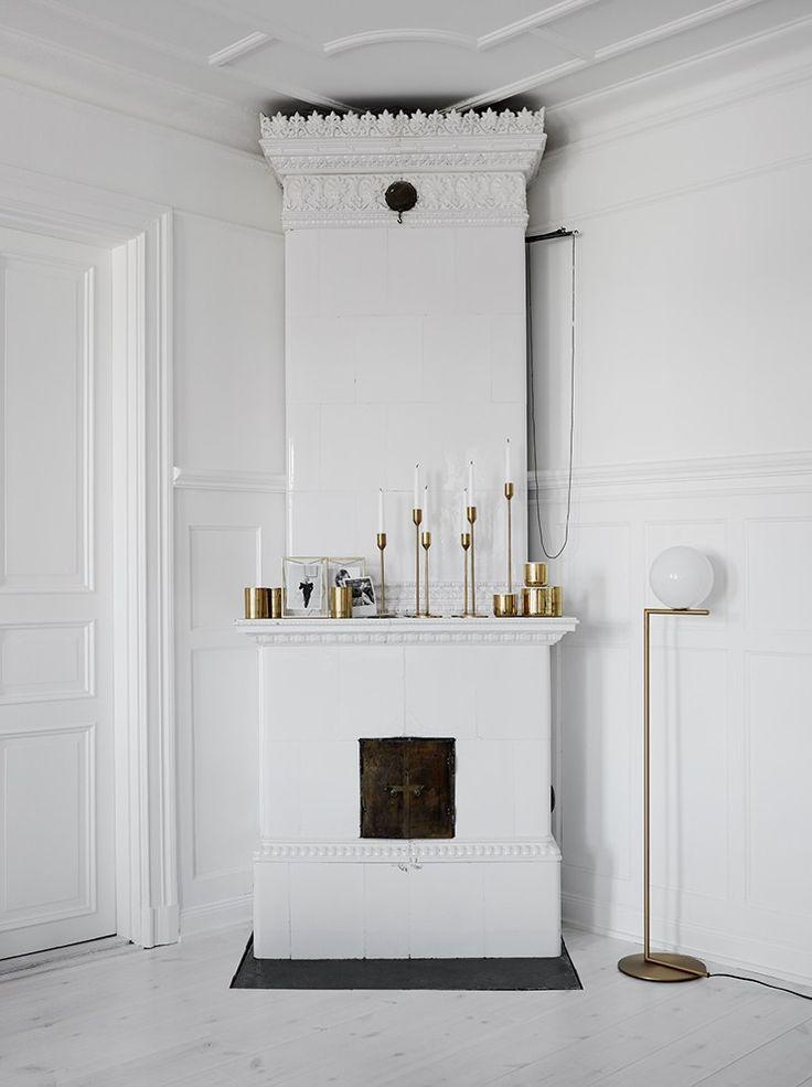Crispy white and brass - via cocolapinedesign.com