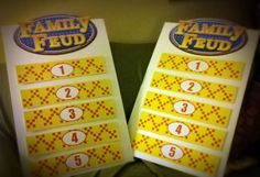 Survey Says: Making a Family Feud Game Board | Bonnie Gets a Hobby