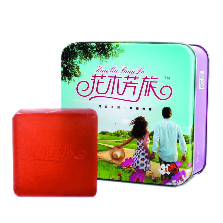 "It is a fancy christmas square soap tin box, made of 0.23mm first grade tin plate, durable and ecofriendly. The size of the soap tin box is 100x100x50mmH (3.94x3.94x1.97""), very suitable for the square shape soap inside."