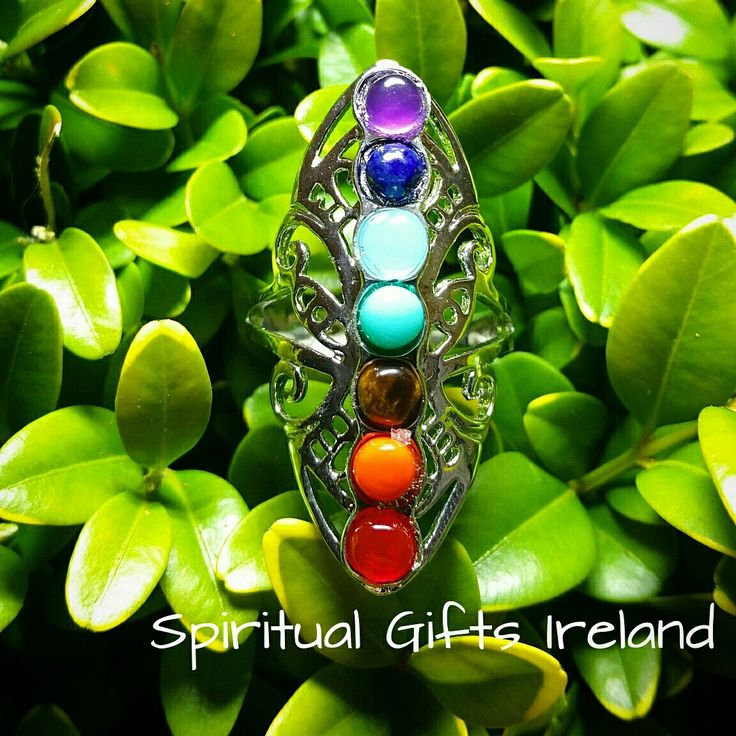 We're loving our new Chakra Butterfly Ring.  Wearing jewellery to bring healing and balance to your Chakras is an ancient practice. This ring gives off a subtle vibration that uplifts and emits positive energy freeing you to go about your daily life and experience healing even when you're not consciously focused on it. Follow us on : www.facebook.com/spiritualgiftsireland  www.instagram.com/spiritualgiftsireland  www.etsy.com/shop/spiritualgiftireland