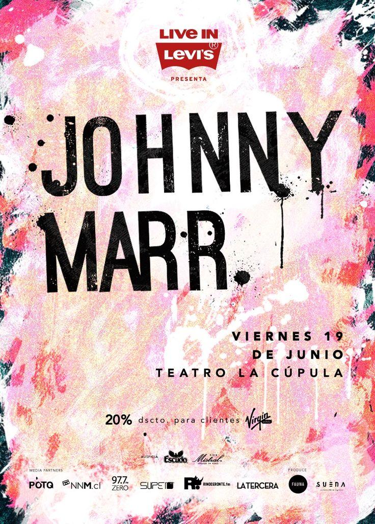 Johnny Marr - 19 de junio - Teatro La Cúpula