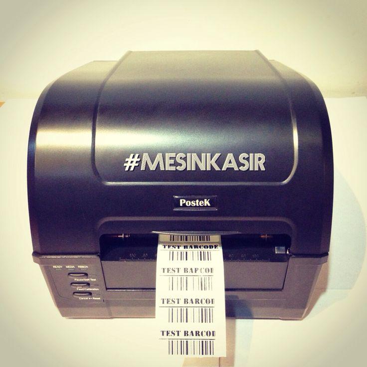 Barcode printer dekstop, dengan kapasitas cetak seperti industrial. Cuman satu - satunya barcode printer yang dilengkapi dengan software desain label full versi yang bisa dihubungkan dengan database. Call 031-5953333, 082124787878. #postek #barcodeprinter #mesinkasir #labelprinter #retail #POSsystem #labellbarcode #ribbonbarcode #Surabaya #Jakarta #Makassar #Indonesia