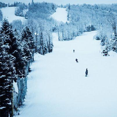 Poconos Mountains, PA. Camelback Ski Resort.