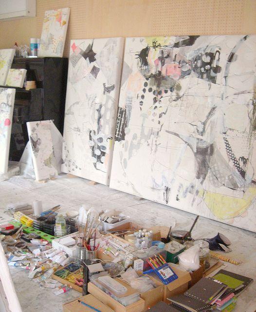 Mayako Nakamura, Artist, Japan, Preparing for the upcoming showAbstract Drawing, Studios Spaces