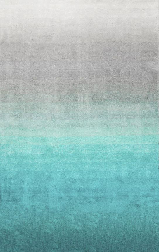 $5 Off when you share! Ombre Shag OS02 Turquoise Rug | Contemporary Rugs #RugsUSA