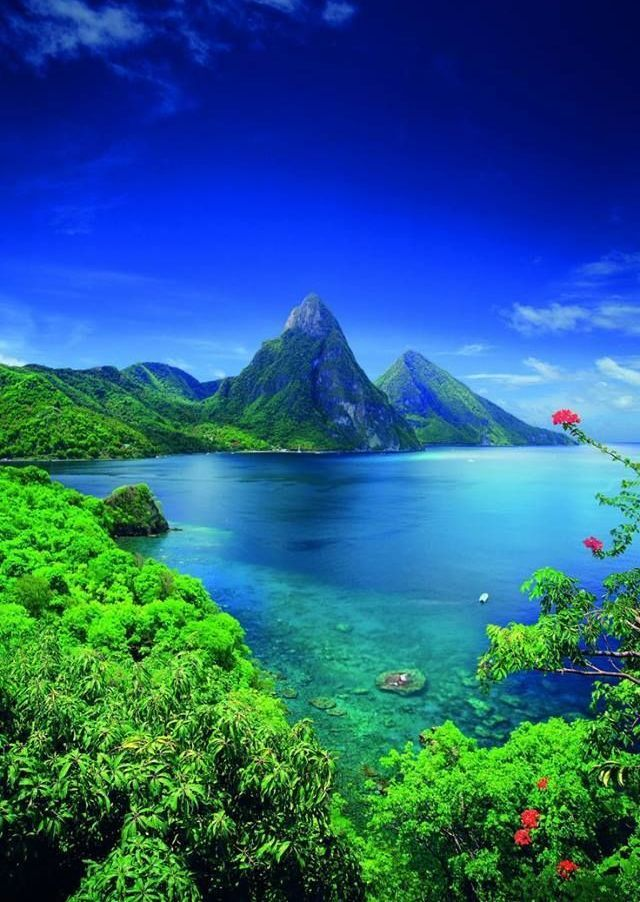 St Lucia Caribbean Islands http://www.fluffyhero.com/ #travel #adventure #cruise #dive